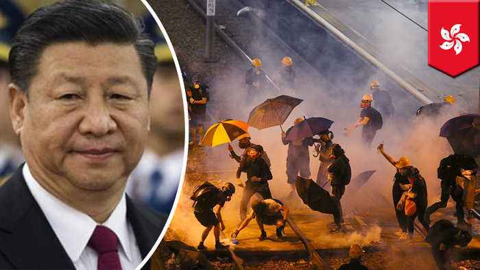 How can China intervene in the Hong Kong protests?