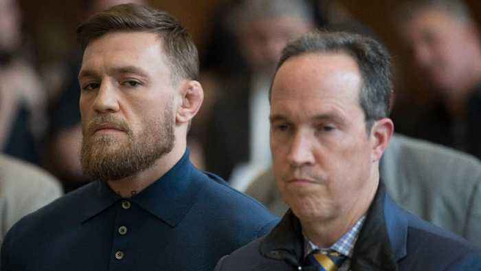 Conor McGregor Reportedly Sucker Punches Man at an Ireland Bar in April