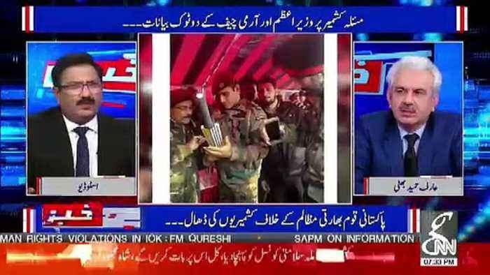 Suna Hai MS Dhoni Ko Kisi Duty Par Bhej Dia Hai Kashmir Mein..Saeed Qazi