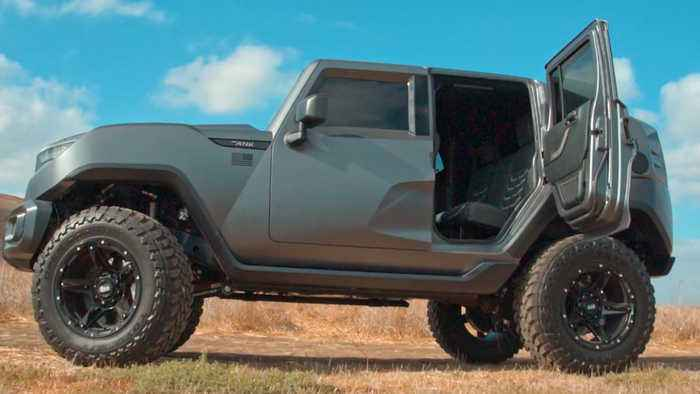 This 'off-road superstar' SUV will make you relive your G.I. Joe, Jane fantasies