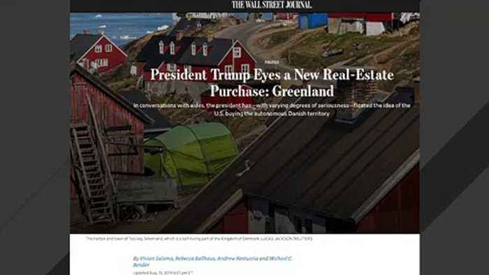 Trump Is Reportedly Interested In Buying Greenland