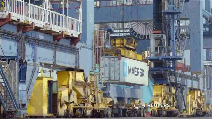 Maersk warns trade war could hurt shipping