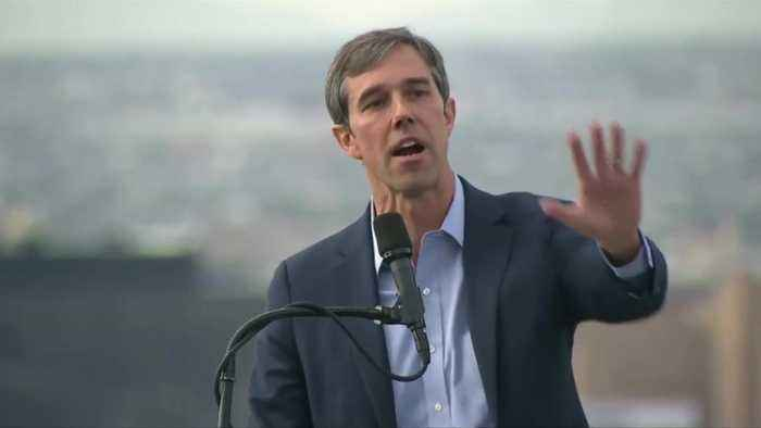 O'Rourke says Trump is cause of nation's pain