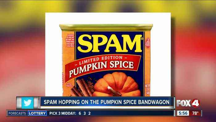 Spam hopping on the pumpkin spice bandwagon