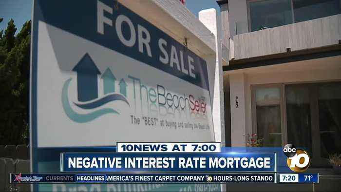 Negative interest rate mortgages?
