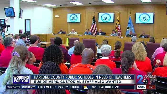 Harford County Public Schools in need of teachers
