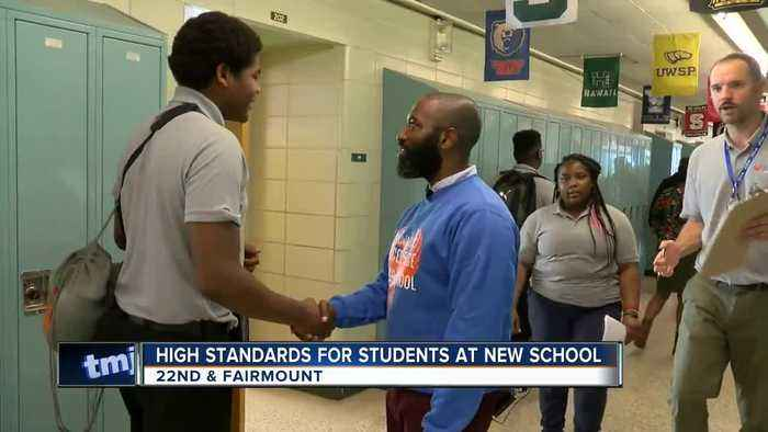 High standards for students at new Milwaukee school