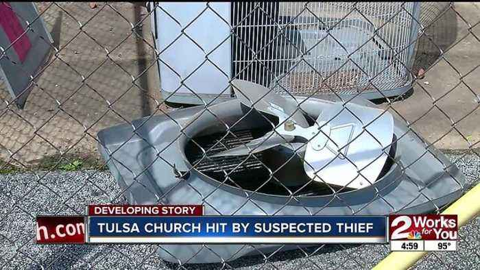 Tulsa Church Hit By Suspected Thief