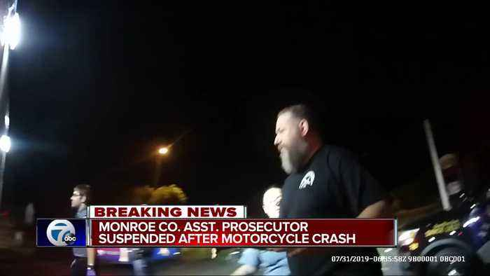 Monroe assistant prosecutor's motorcycle crash could lead to charges