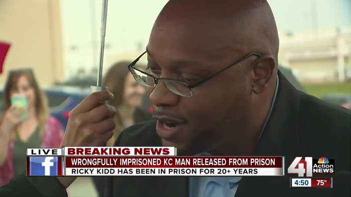 Ricky Kidd freed from Missouri prison