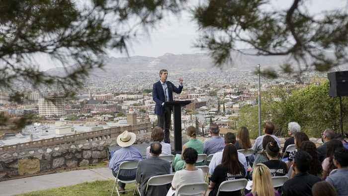 O'Rourke Relaunches Presidential Bid, Championing El Paso Cause