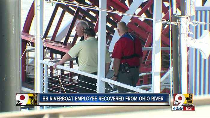 Crews recover body of BB Riverboat employee from Ohio River