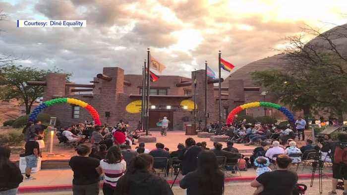 LGBTQ Rights Activists Activists Push the Navajo Nation to Repeal its Same-Sex Marriage Ban