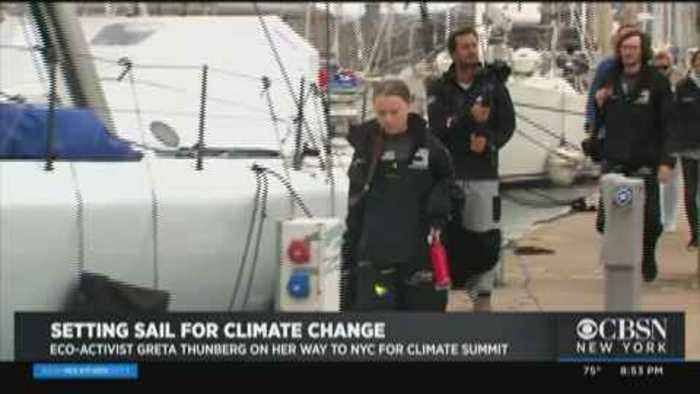 Teen Eco-Activist Traveling To NY From England Aboard Solar-Powered Sailboat