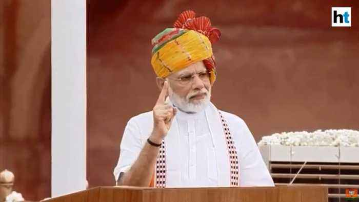 PM Modi on I-Day: One nation, one constitution dream has been achieved