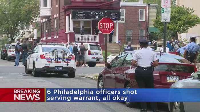 6 Police Officers Shot In Philadelphia Standoff
