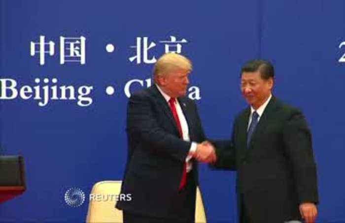 Trump ties China trade deal to Hong Kong protest
