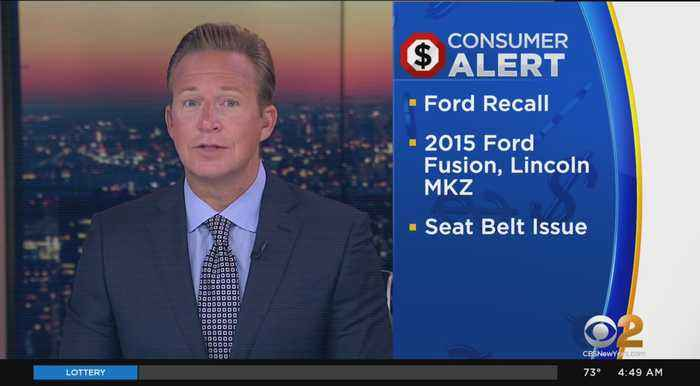 Ford Recalling More Than 108,000 Midsize Cars In North America