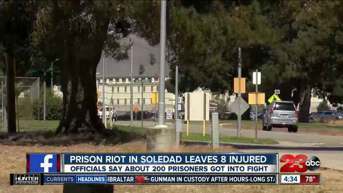 Prison riot in Soledad leaves 8 injured after 200 prisoners get involved in fight