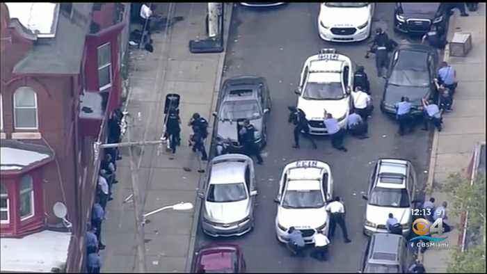 Suspect In Custody Following Philadelphia Shooting