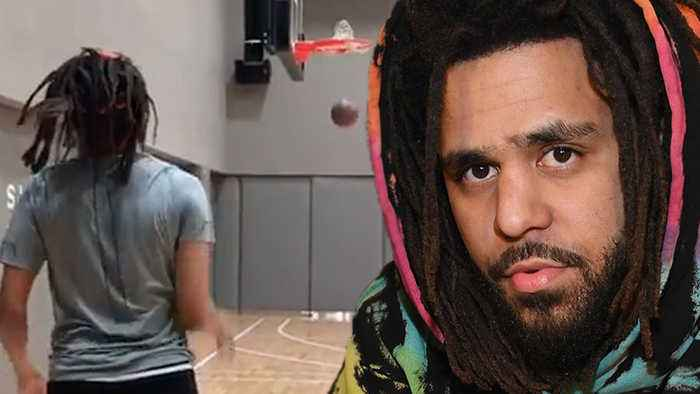 J Cole Shows Off INSANE 3 Point Shooting Skills While Team USA Suffers EMBARRASSING 36-17 Loss