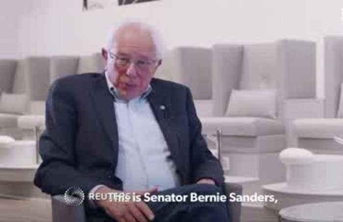 Sanders tells Cardi B, 'Trump is an overt racist'