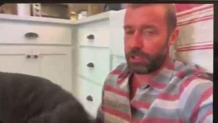Video shows Marley's Mutts Zach Skow shoving puppy