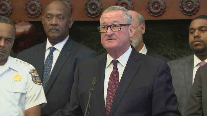 Mayor Jim Kenney, Pennsylvania Officials Provide Update On Nicetown-Tioga Shooting