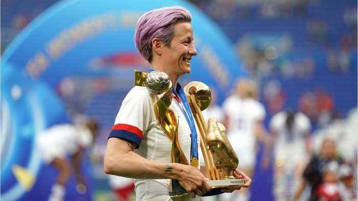 Megan Rapinoe Says Women's Soccer 'Won't Accept Anything Less Than Equal Pay'
