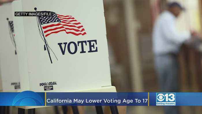 California May Lower The Voting Age To 17