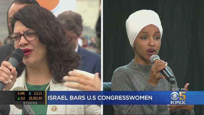 Democrats And Republicans Condemn Israel Barring Outspoken US Congresswomen
