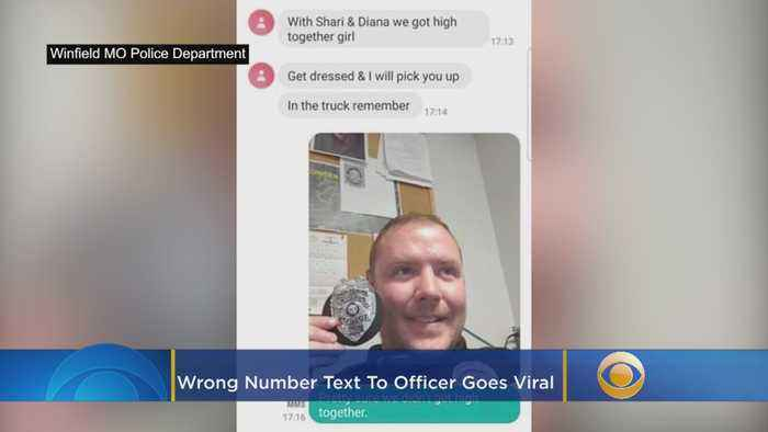 Wrong Number Text To Officer Goes Viral