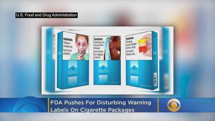 FDA Pushes For Disturbing Warning Labels On Cigarette Packages