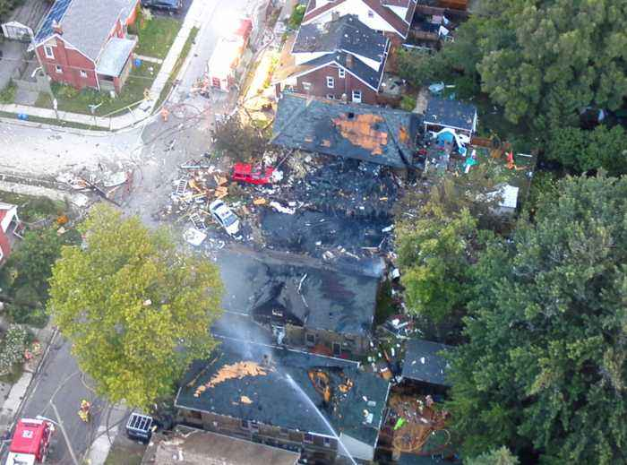 Major Explosion In London, Ont., After Vehicle Crashes Into House