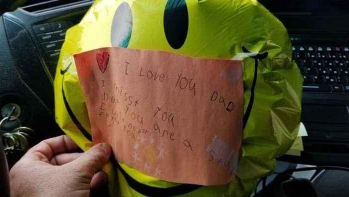 Deputy finds heartbreaking balloon message