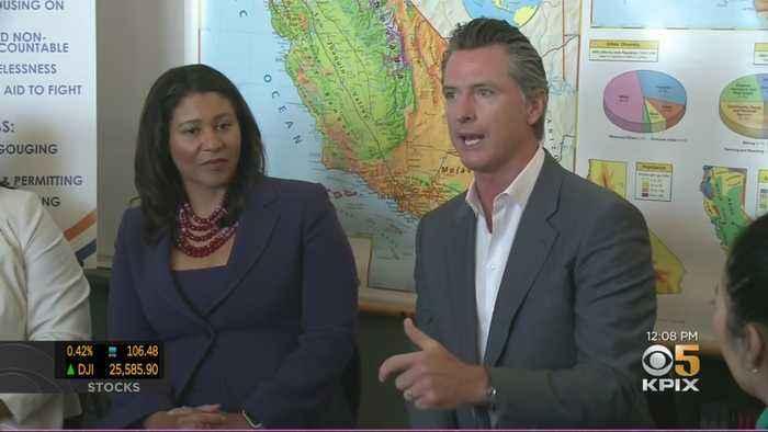 Gov. Newsom Talks Housing Crisis Solutions With San Francisco Teachers