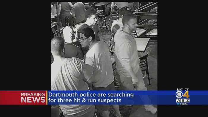 Dartmouth Police Seek 3 Suspects In Hit & Run