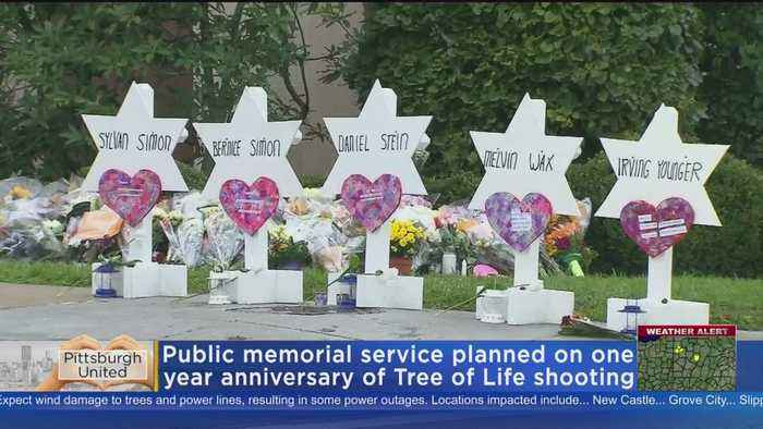 Memorial Service Planned On Anniversary Of Tree Of Life Shootings