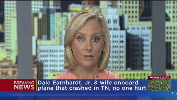 Dale Earnhardt Jr., Wife On Plane That Crashed In Tennessee