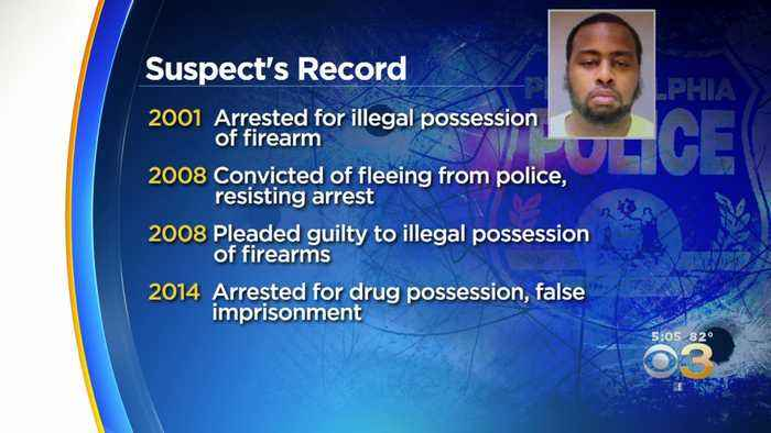 Suspected Gunman Accused Of Shooting 6 Philly Cops Has Long Rap Sheet