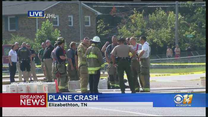 Dale Earnhardt Jr. And His Wife Survive Small Plane Crash In East Tennessee