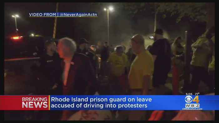 Captain On Leave After Protesters At Rhode Island Immigration Facility Say Truck Drove At Them