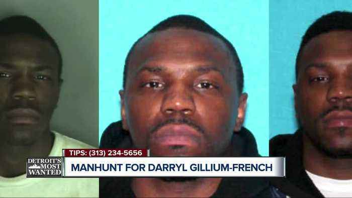 Detroit Most Wanted: Convicted criminal Darryl Gillium-French walks out of halfway house front door