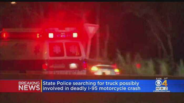 Police Seek Driver Who Left Scene Of Fatal Motorcycle Crash On I-95