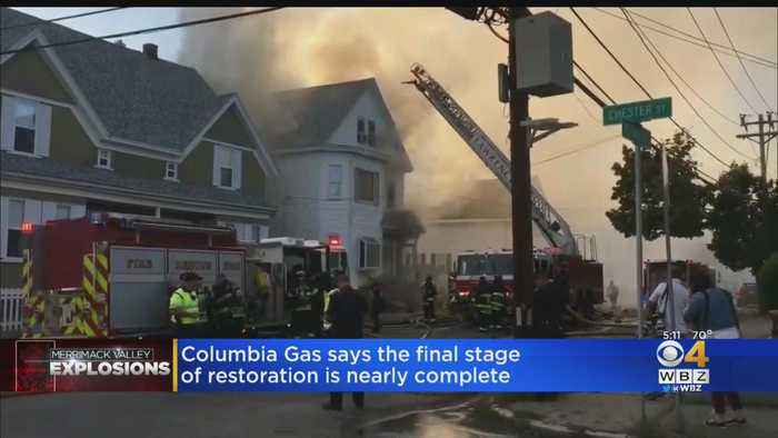 Columbia Gas Completes Next Phase Of Restoration In Merrimack Valley Explosions