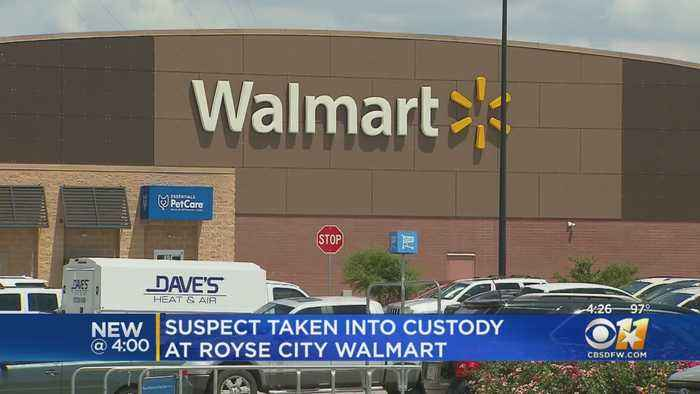 Armed Suspect Arrested After Running From Officers Into Royse City Walmart