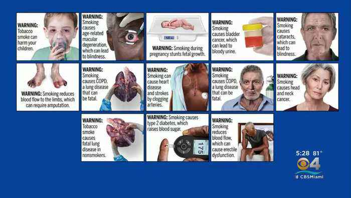 FDA Unveils Graphic New Health Warnings For Cigarette Packages & Labels
