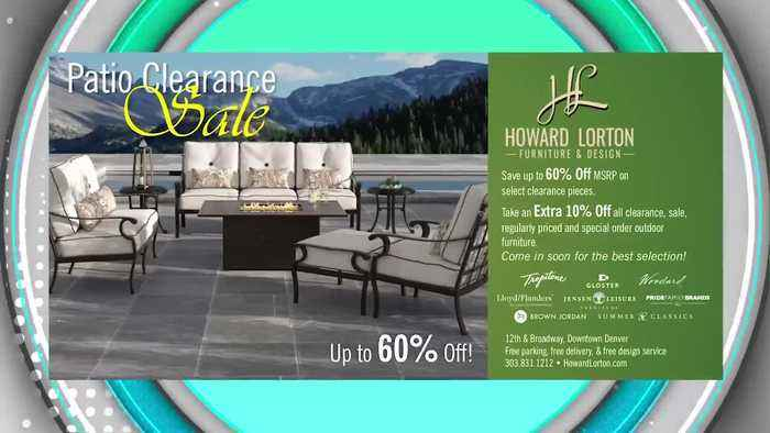 Howard Lorton Furniture and Design Patio Clearance Sale