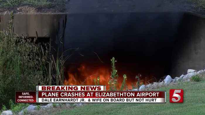 Dale Earnhardt Jr., wife and 1-year-old daughter involved in East Tennessee plane crash
