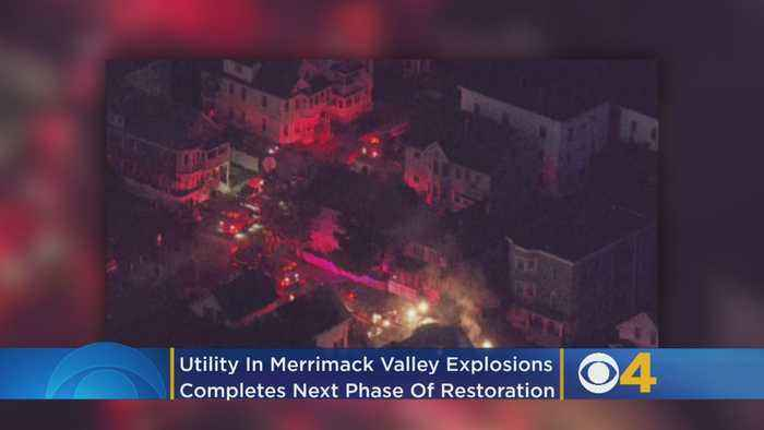 Utility In Merrimack Valley Explosions Completes Next Phase Of Restoration
